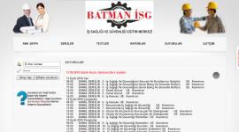 Batman İSG Eğitim Merkezi